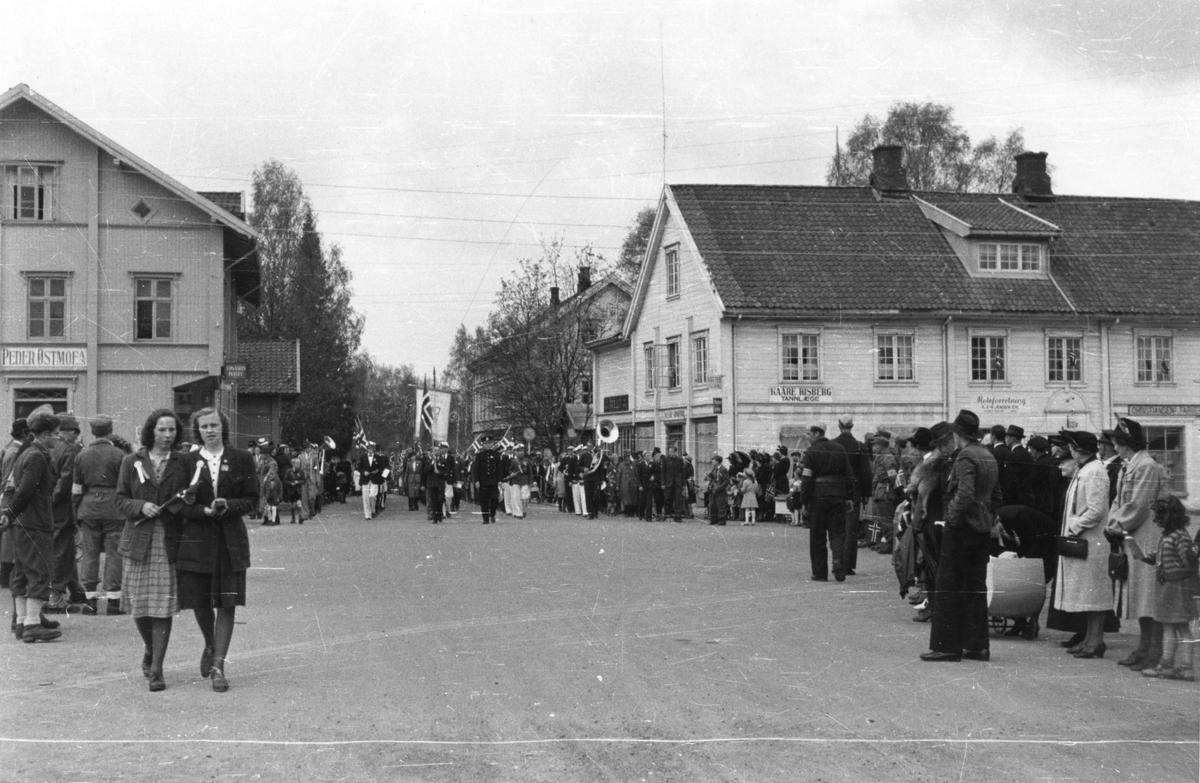 Østmoehjørnet,17.mai 1945