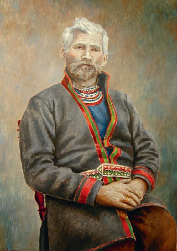 Daniel Mortenson portrettmaleri