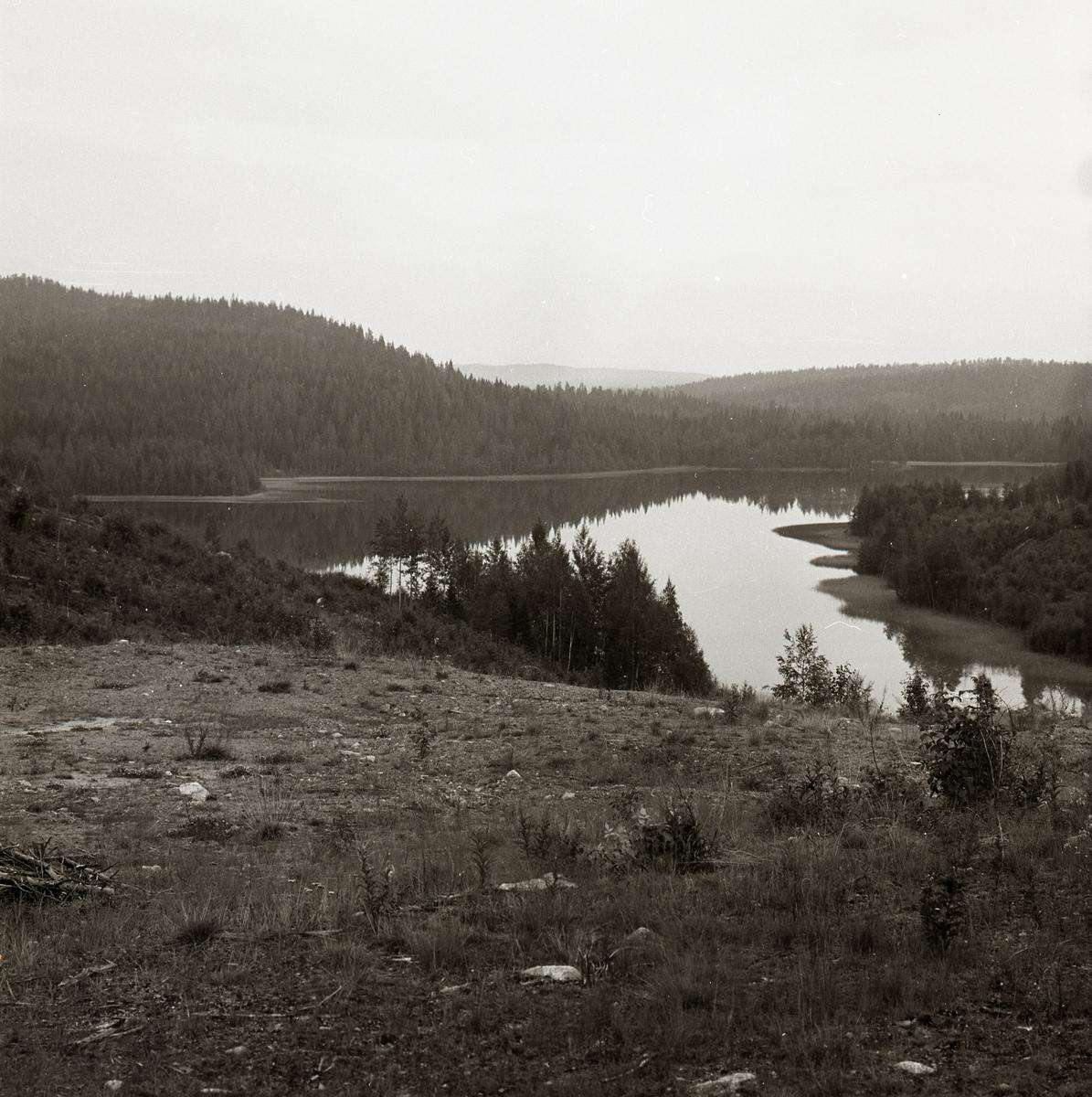 Utsikt över Peresjön i Örnsköldsvik.