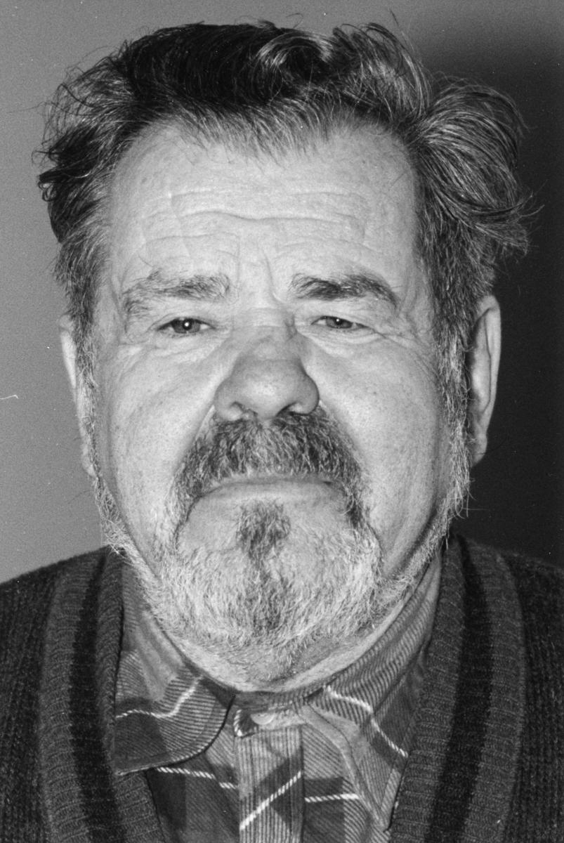 Rune Sörbom, Socialdemokraterna Porträtt av man