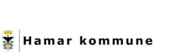 Skjold med orrhane i et tre og krone over - Hamar kommunes kommunevåpen. (Foto/Photo)