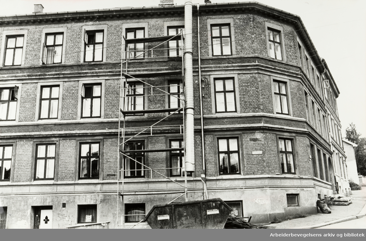 Hølandsgata 4. Juli 1979