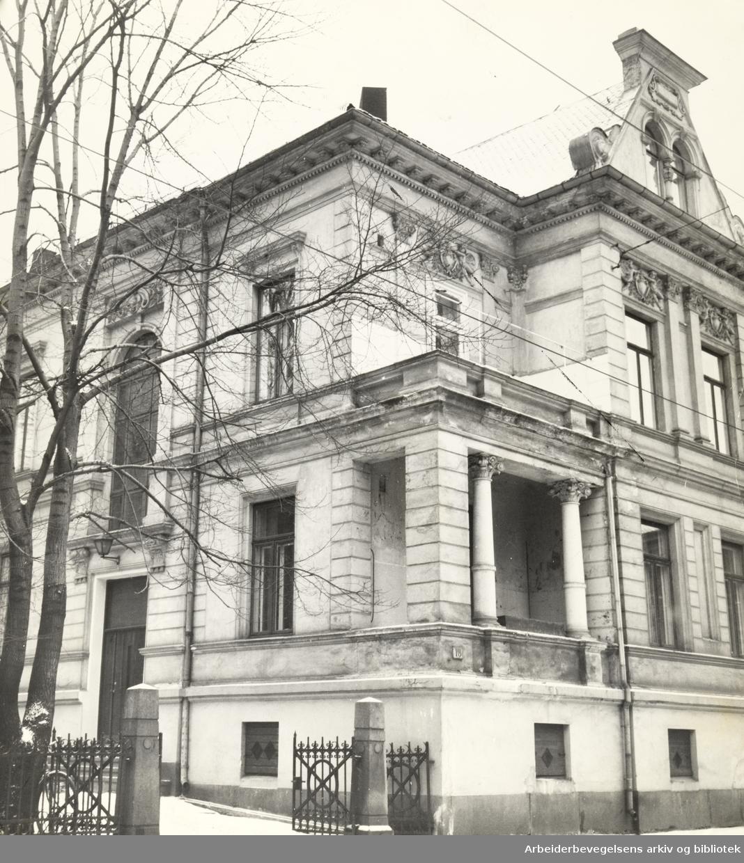 Inkognitogata 18. Libertas hovedsete. Februar 1960