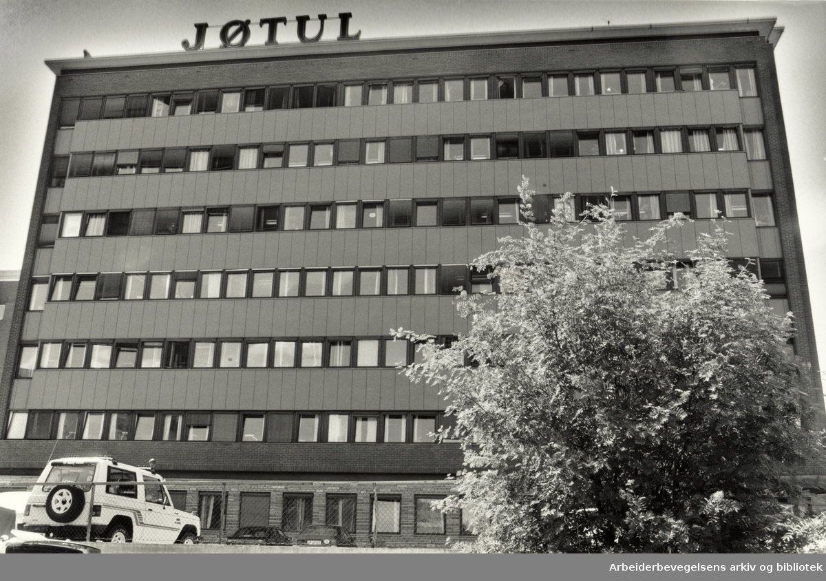 Jøtul. Grenseveien 99. 16. juni 1988
