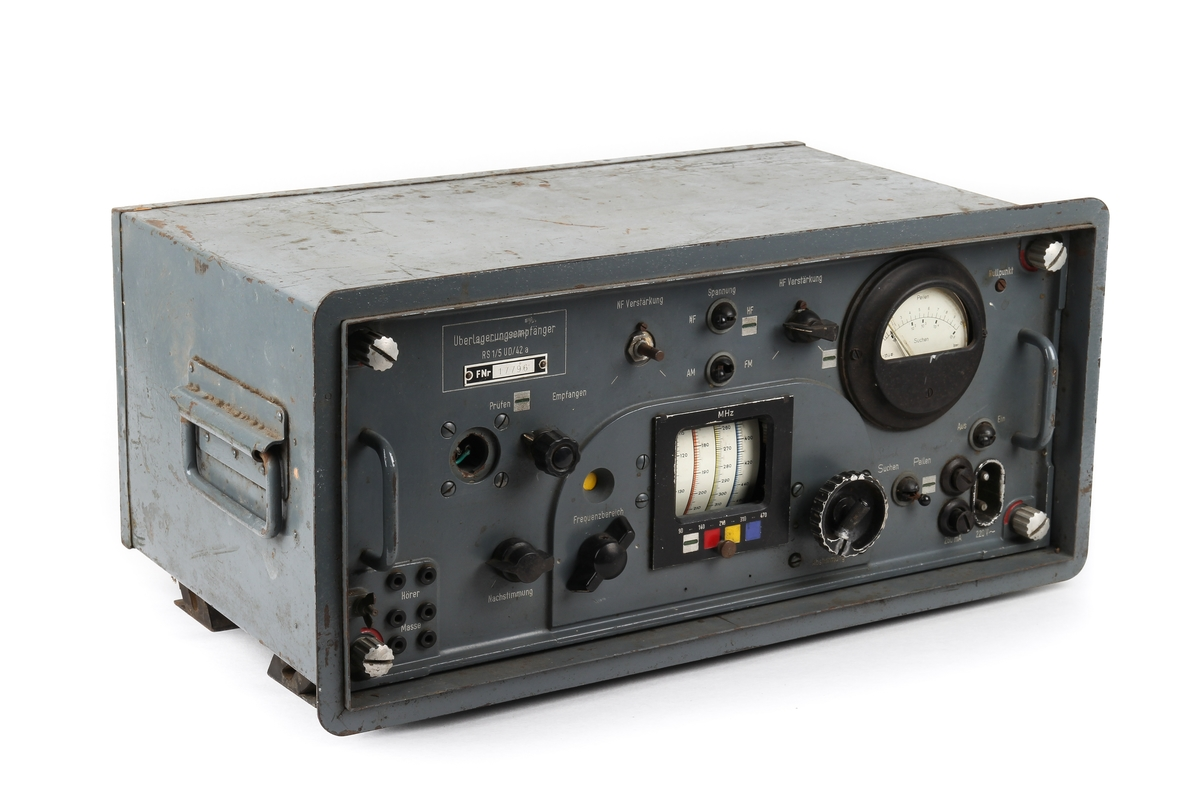 Radiomottaker som ble brukt til å finne målets retning.