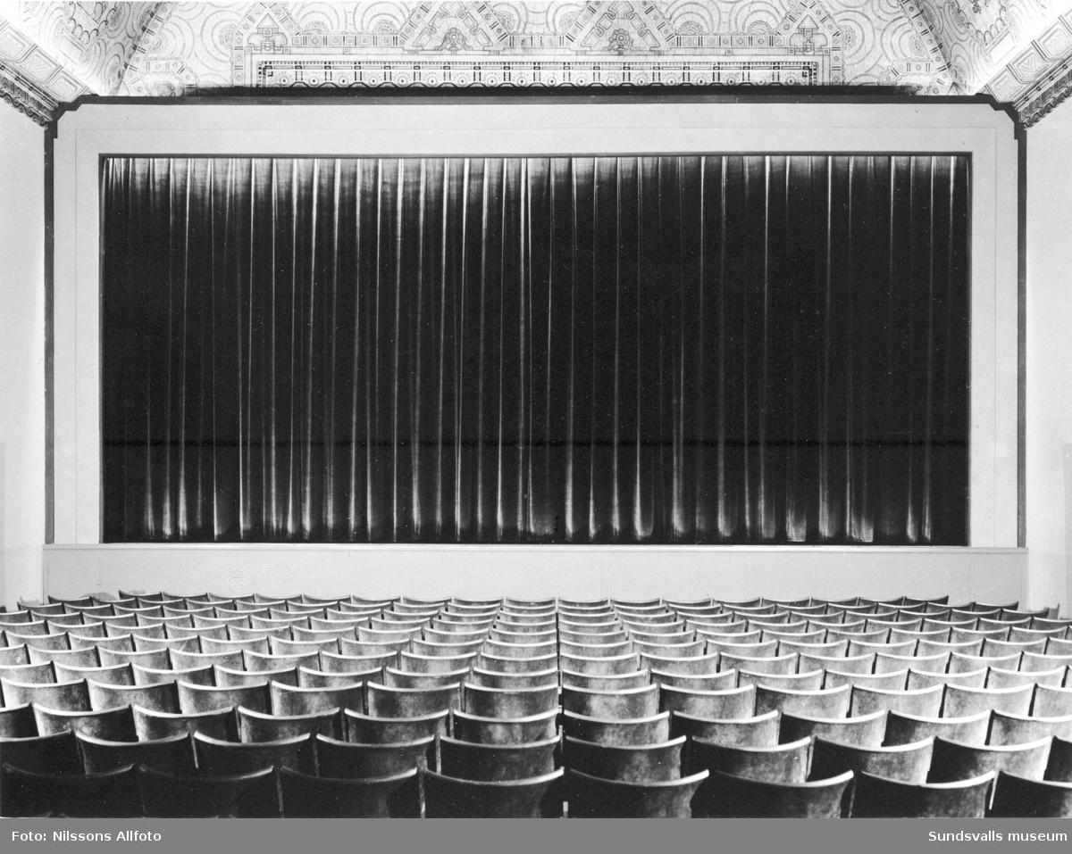 Interiör i Svea-biografen.