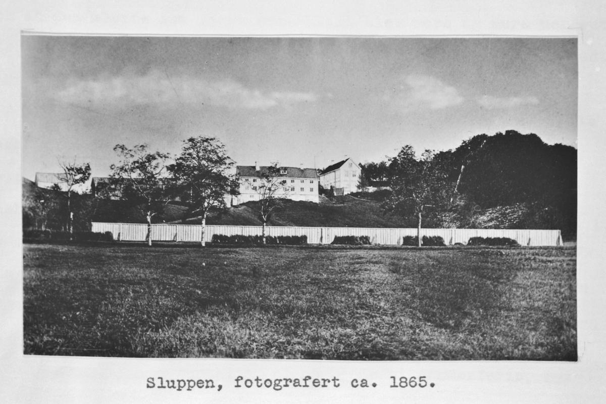 Gamle Sluppen gård ca. 1865 (kopi)