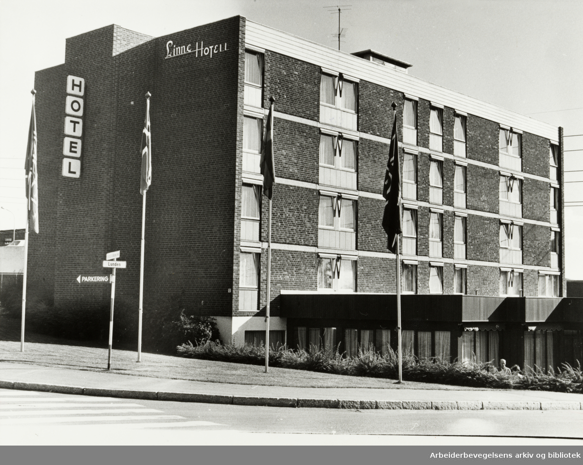Linne Hotell. September 1979