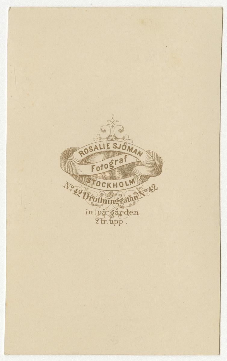 Porträtt av Adolf Fredrik Christian af Klercker, kapten vid Andra livgrenadjärregementet I 5.  Se även bild AMA.0001881, AMA.0001932 och AMA.0009604.