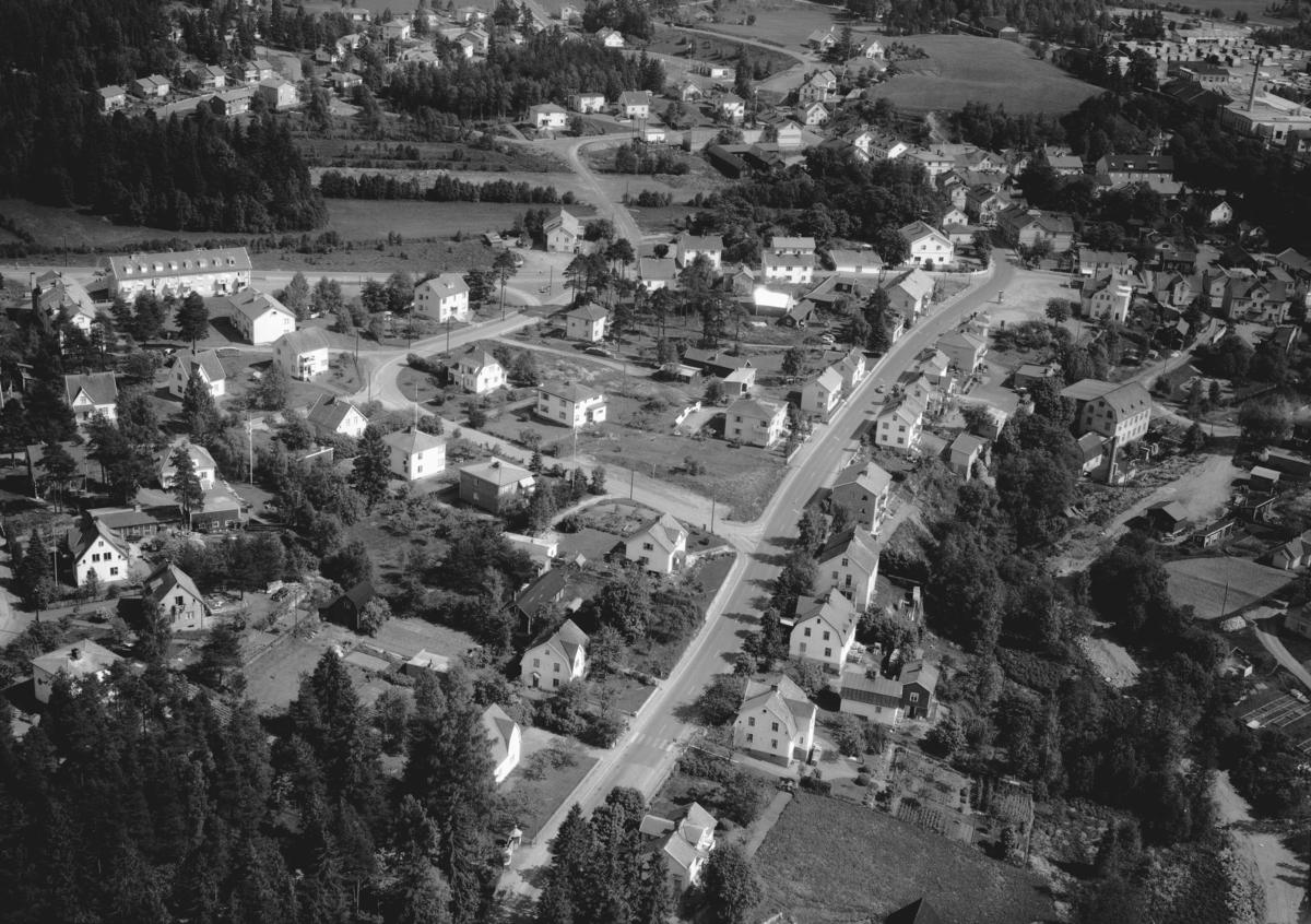Flygfoto över Forserum i Nässjö kommun. Jönköpings län. Nr 1049/1961