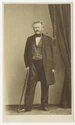 Porträtt av Carl Abraham Ekeman, regementsskrivare vid Andra