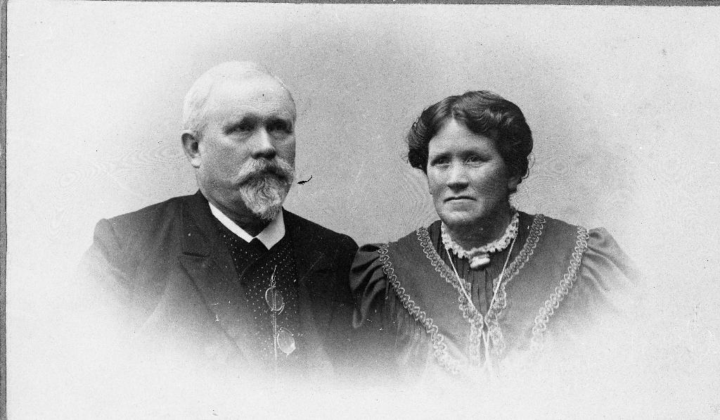 Lensmann Lima og kona Serina f. Norheim
