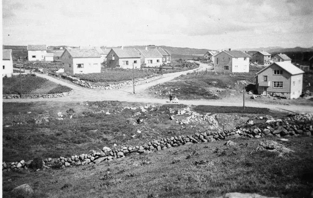 Nye hus i Varheia i 1953