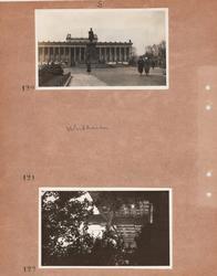 Motiv: Utlandet, Berlin 114 - 146 ;  Kvinnor promenerar fra