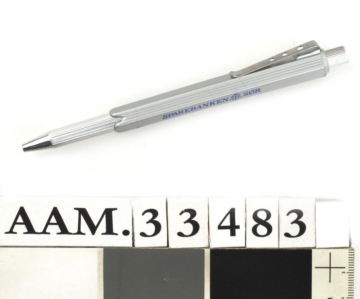 Kulepenn, reklamepenn fra Sparebanken SØR.