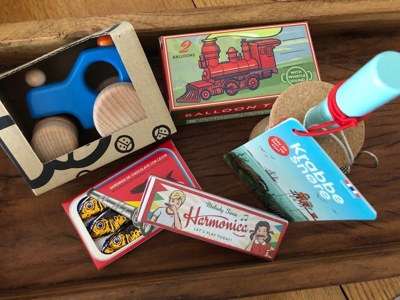 Leker og sjokolade i museumsbutikken