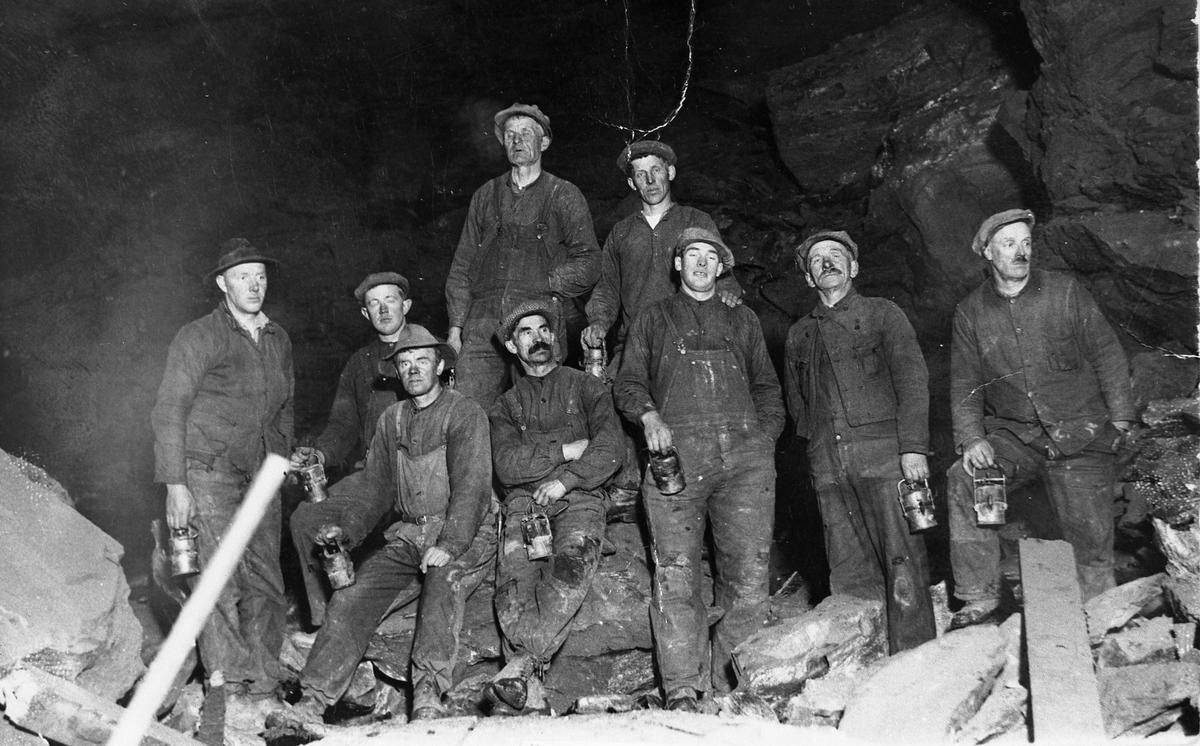 Gruvearbeidere ved Christianus Sextus, vinteren 1939-40