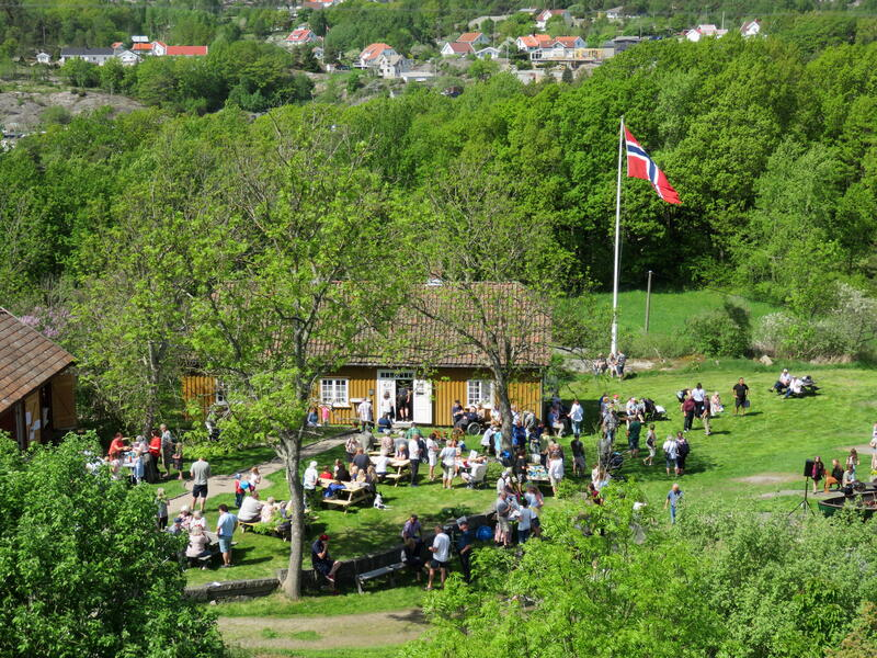 Bilde fra bygdedagen på Kystmuseet Hvaler (Foto/Photo)