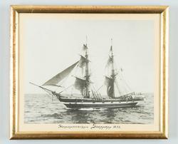 Skeppsgossebriggen Snappopp till sjöss