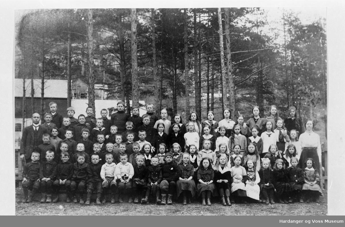 Gruppebilete, Tyssedal skule