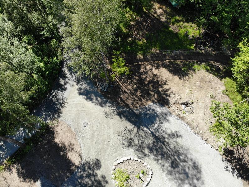 Taraldrud drone grunnarbeider (Foto/Photo)