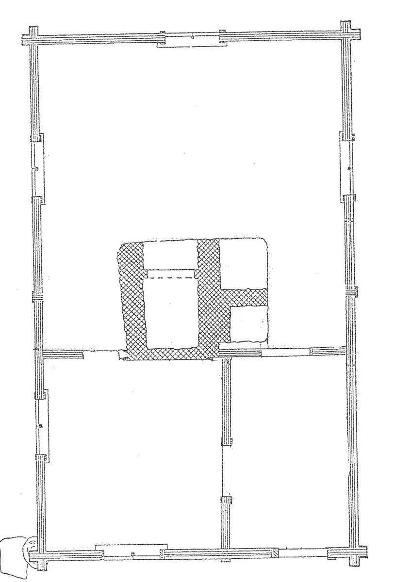 Bagarstugan på Skansen är en timrad byggnad i en våning. Taket är ett sadeltak belagt med enkupigt tegel. Ingången sker från gaveln.  Bagarstugan kommer från Åflo i Offerdals socken, jämtland. Den uppfördes troligen under andra halvan av 1800-talet. Bagarstugan flyttades till Skansen och invigdes 1983.