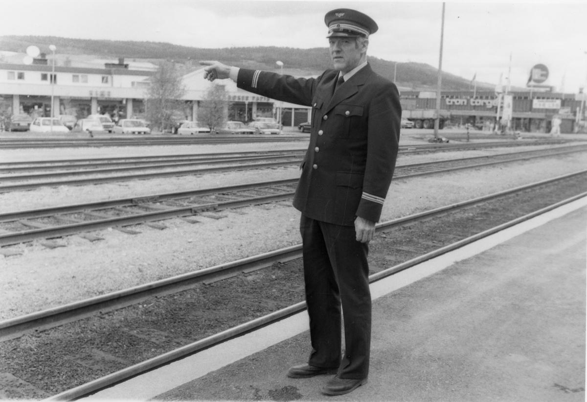 Stasjonsbetjening Tynset stasjon
