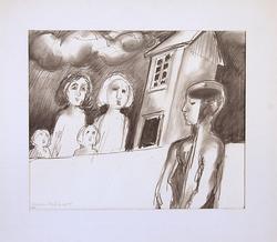 Teckning -68 [Blyertsteckning]