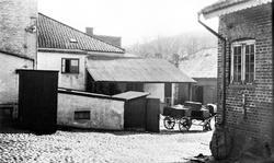 Haldens Bryggeri. Bryggerigården i Halden, ukjent datering.