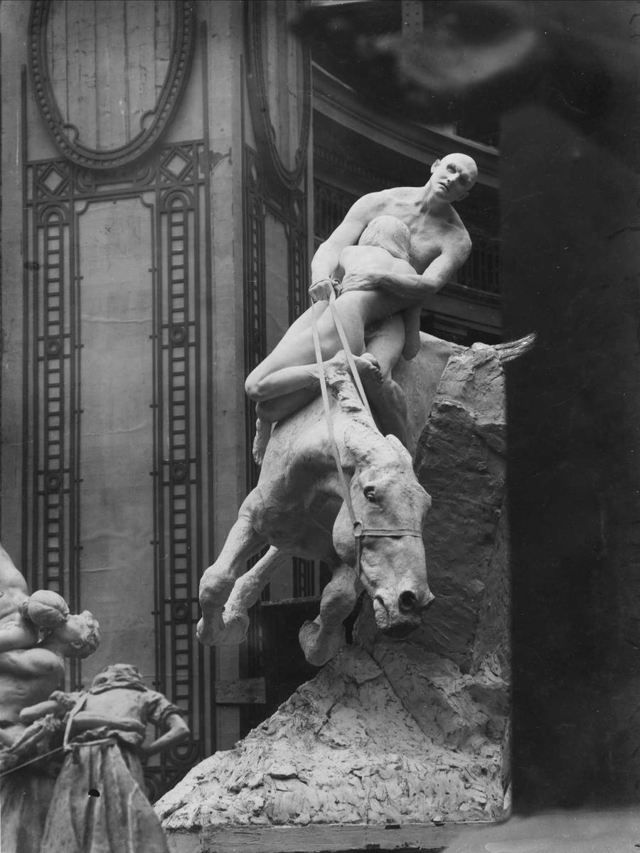 Skulptur, Utsond, Paris,
