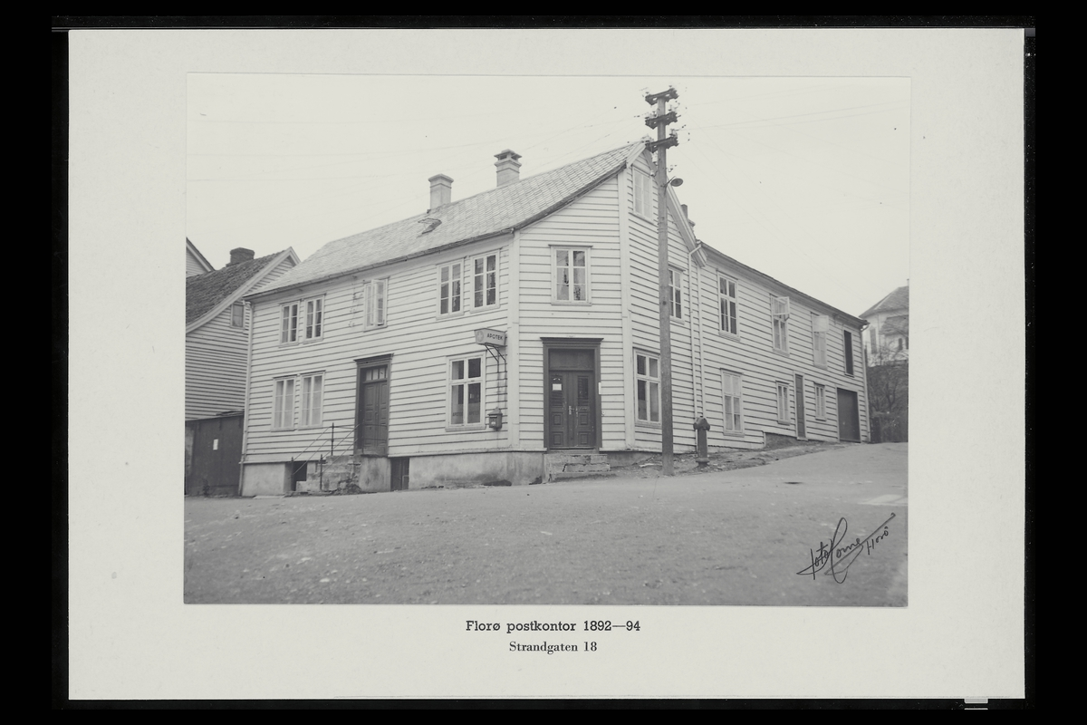 eksteriør, postkontor, 6900 Florø, postkasse
