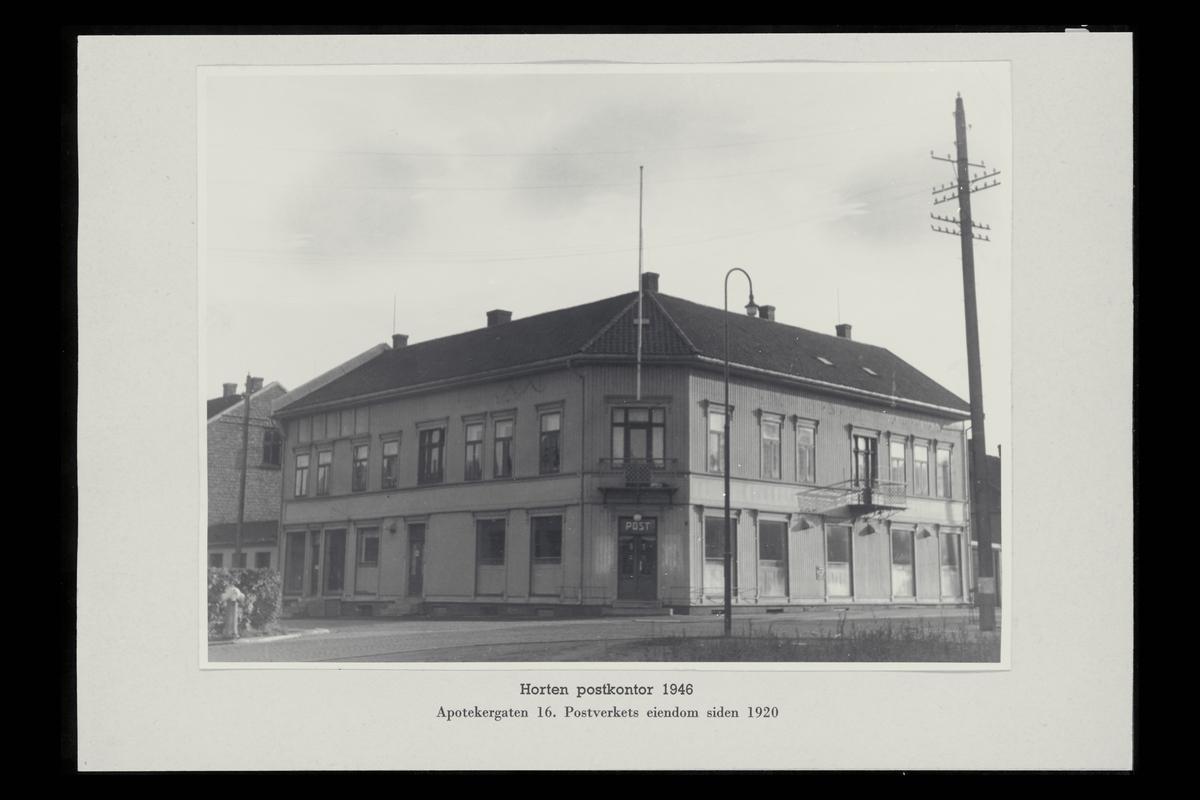 eksteriør, postkontor, 3190 Horten