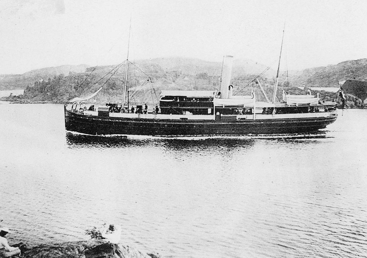 transport, båt, eksteriør, S/S Arendal