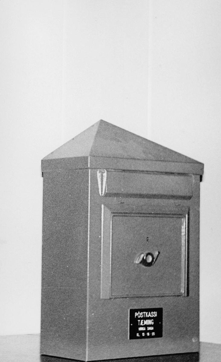 postkasser, utland, interiør, 12. februar 1969