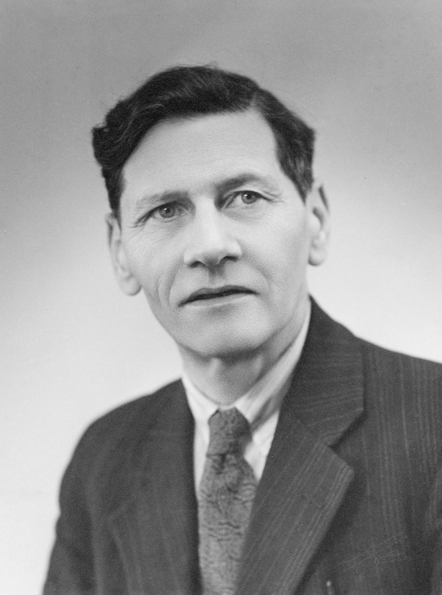 portrett, postmester, Martin Osvald Magnussen