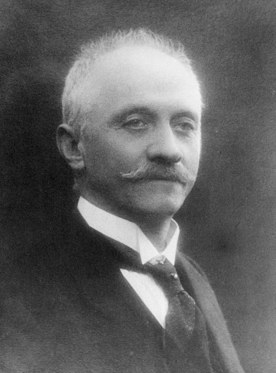 portrett, postmester, Schartum Olaf Laurentius
