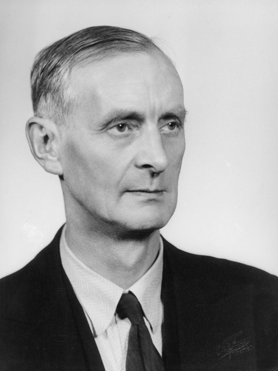 postmester, Wara Alfred Rudolf, portrett