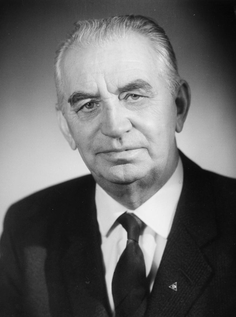 postmester, Carlsten Johan Hroar, portrett