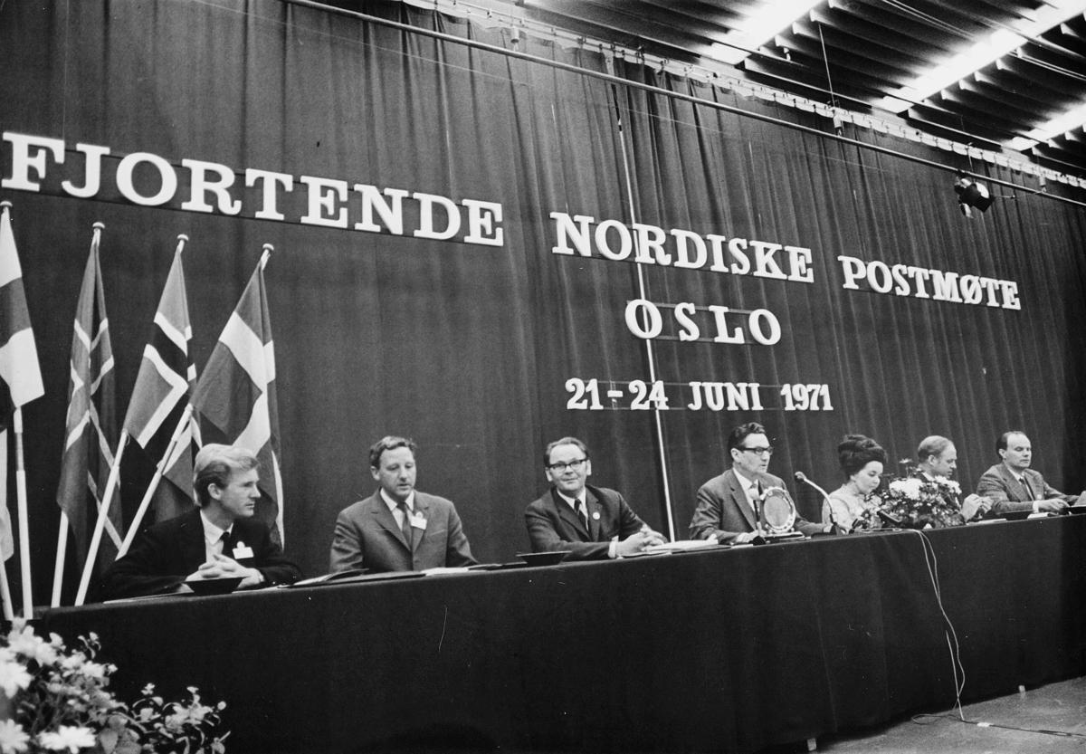 gruppebilde, Oslo, Fjortende Nordiske Postmøte