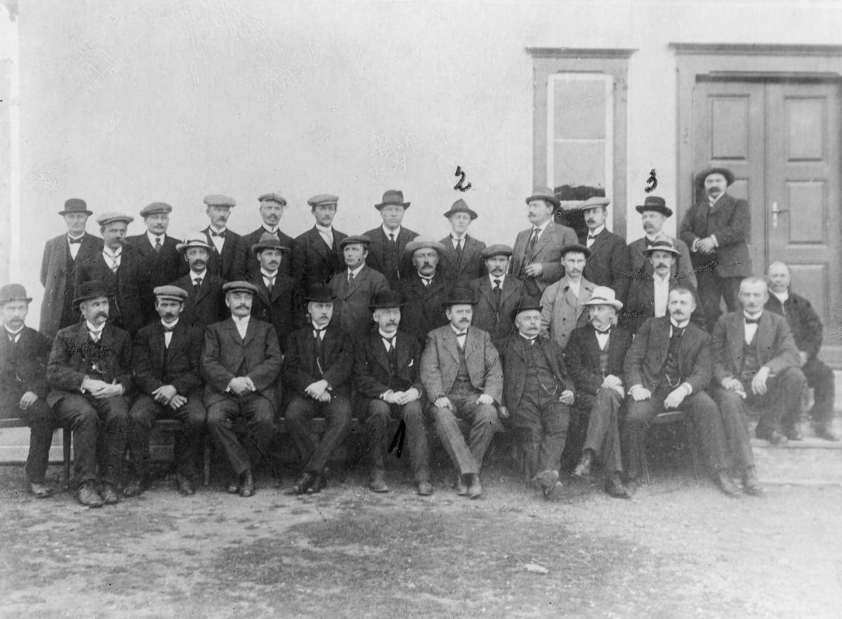gruppebilde, Finnmark amtsting 1916, Finnmark