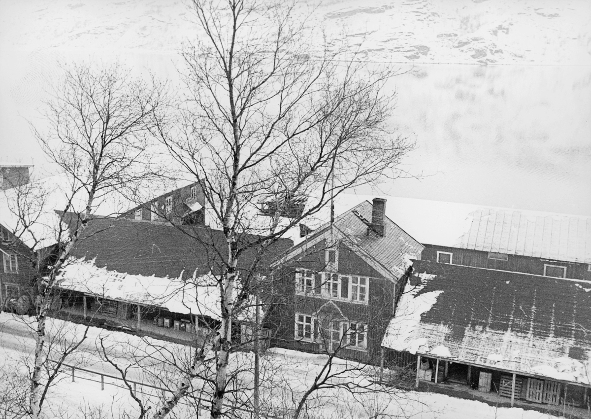 norgesbilder, 8230 Sulitjelma, hus