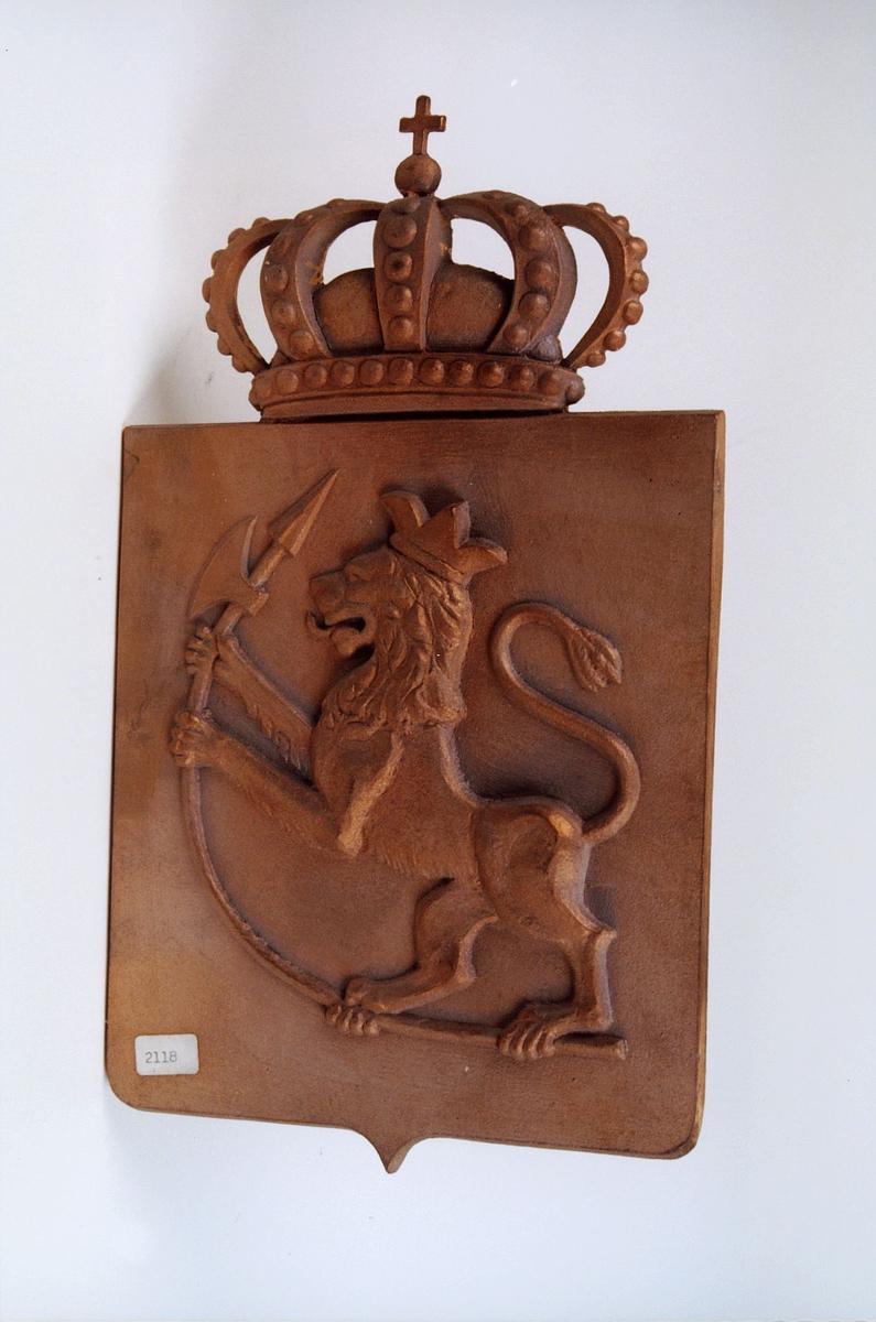postmuseet, gjenstander, riksvåpen 1814