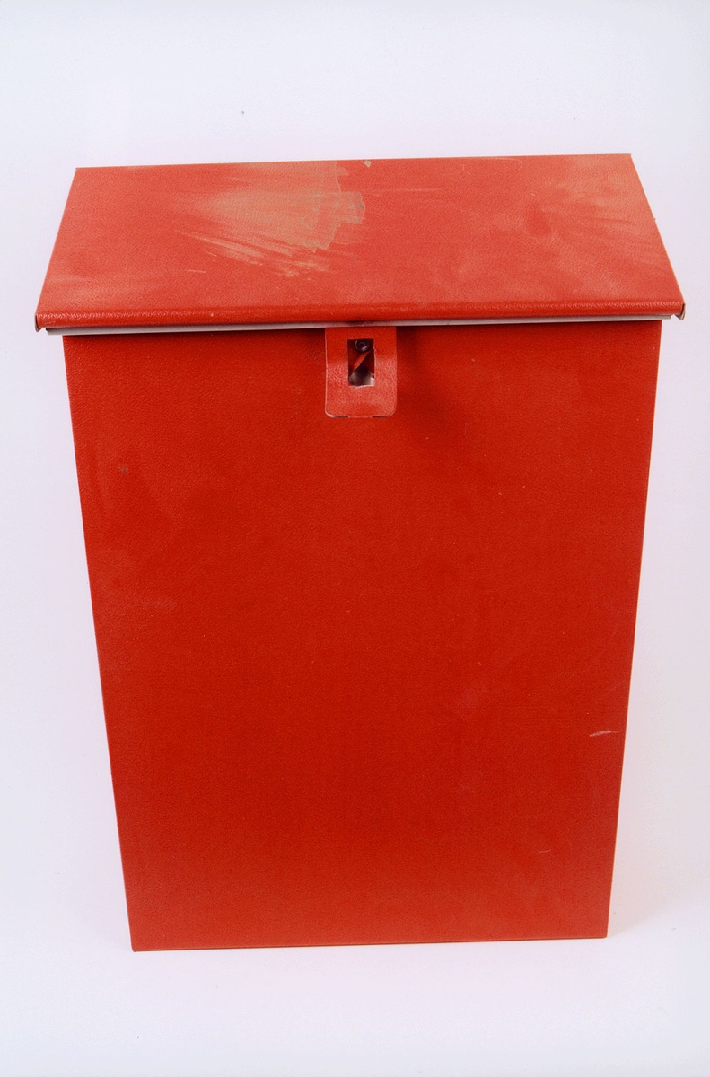 postmuseet, gjenstander, postkasse, offentlig postkasse for privat postkassestativ