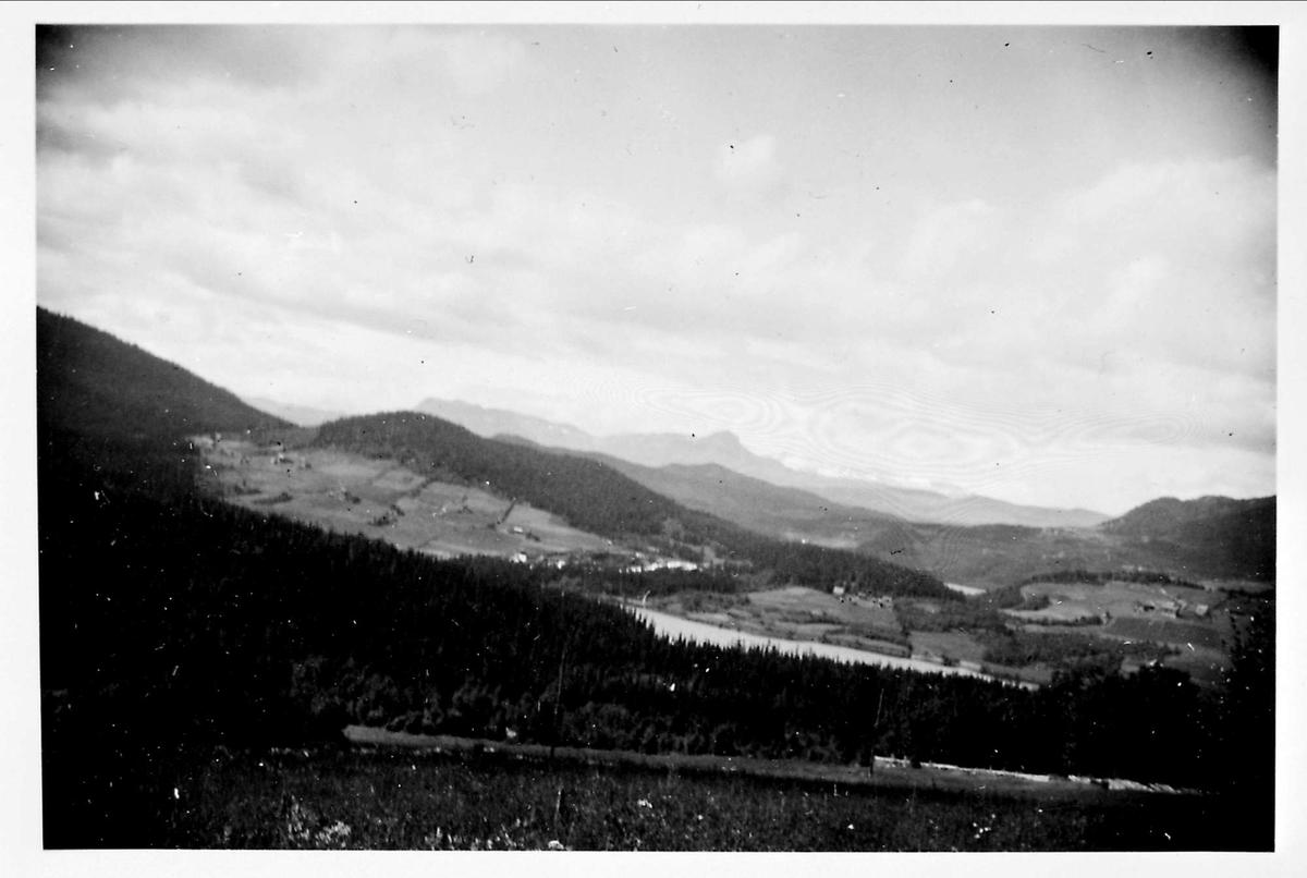 Landskap, fjell,