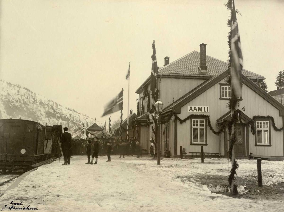 Åmlibilder Åmli stasjon