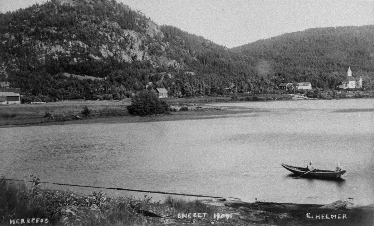 Bilder fra Birkenes kommune Herefossfjorden