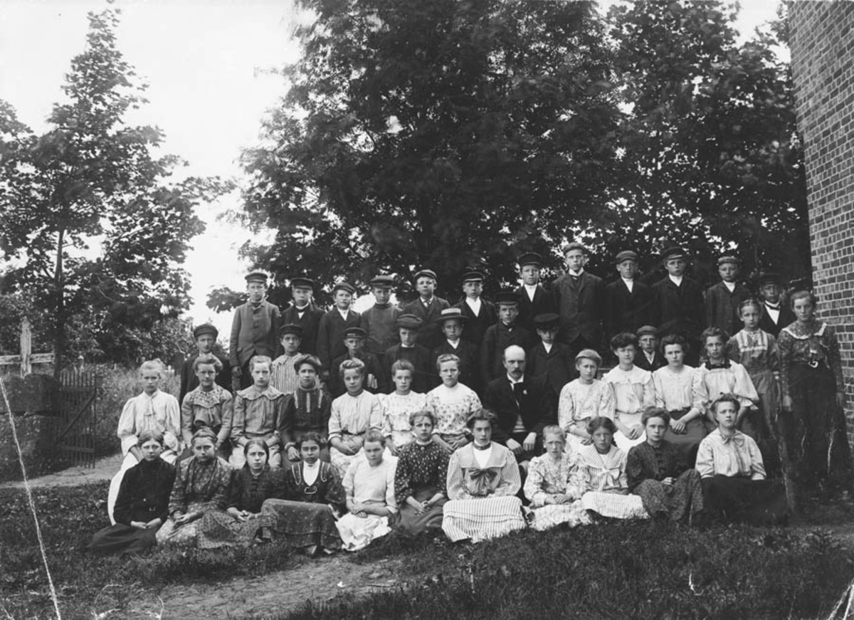 Konfirmanter fra Ski 1907.