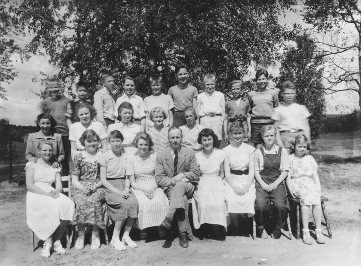 Kontra skole 1950.