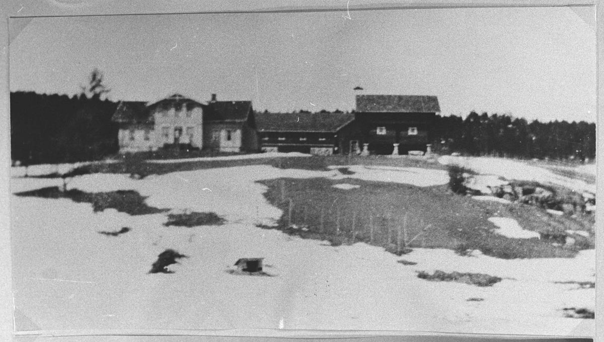Haneborg gård sett fra Nord.