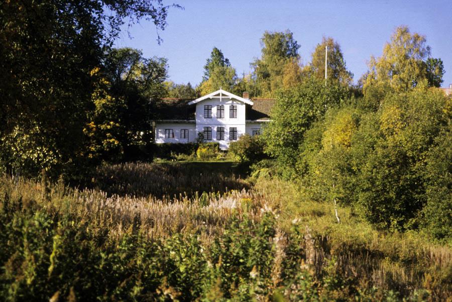 Hovedbygningen på Haneborg gård